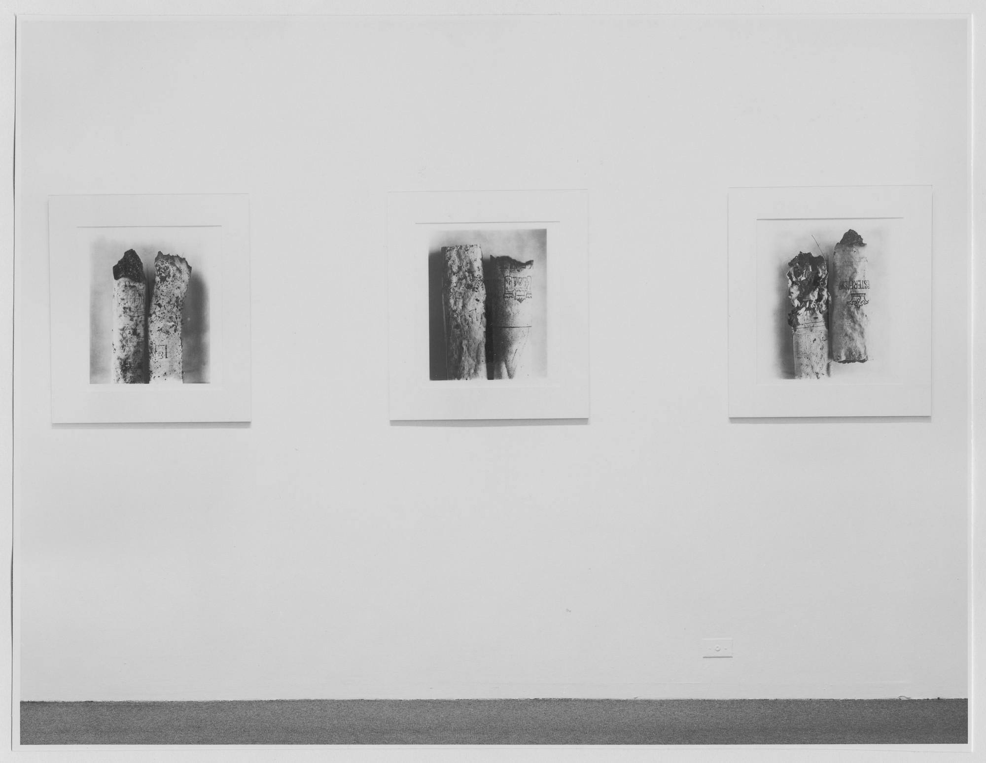 "Installation view of the exhibition, ""Irving Penn Recent Works."" May 19, 1975–August 3, 1975. Photographic Archive. The Museum of Modern Art Archives, New York. IN1099a.1. Photograph by Katherine Keller."