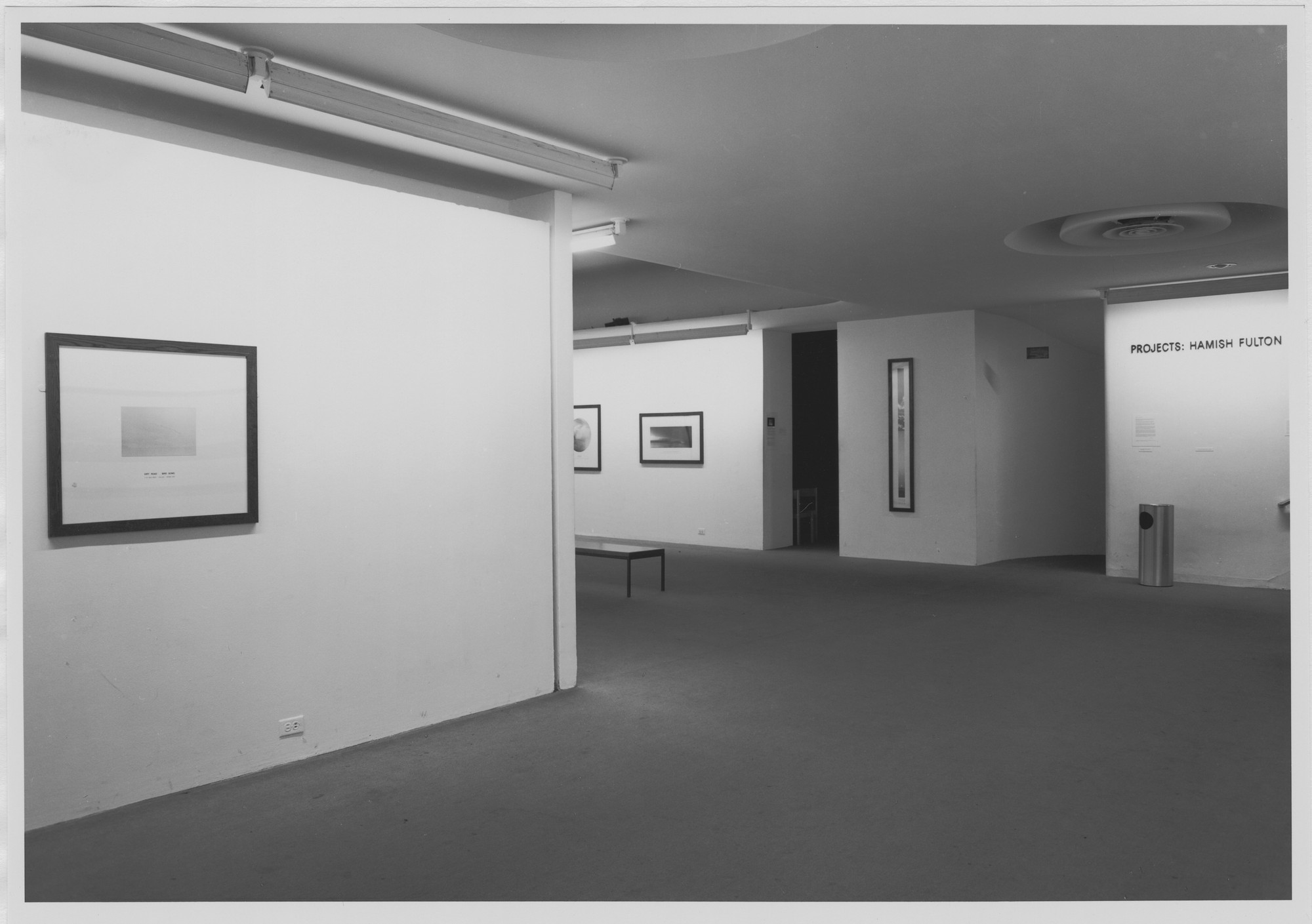 "Installation view of the exhibition, ""Projects: Hamish Fulton"" October 3, 1978–November 26, 1978. Photographic Archive. The Museum of Modern Art Archives, New York. IN1230.1. Photograph by Katherine Keller."
