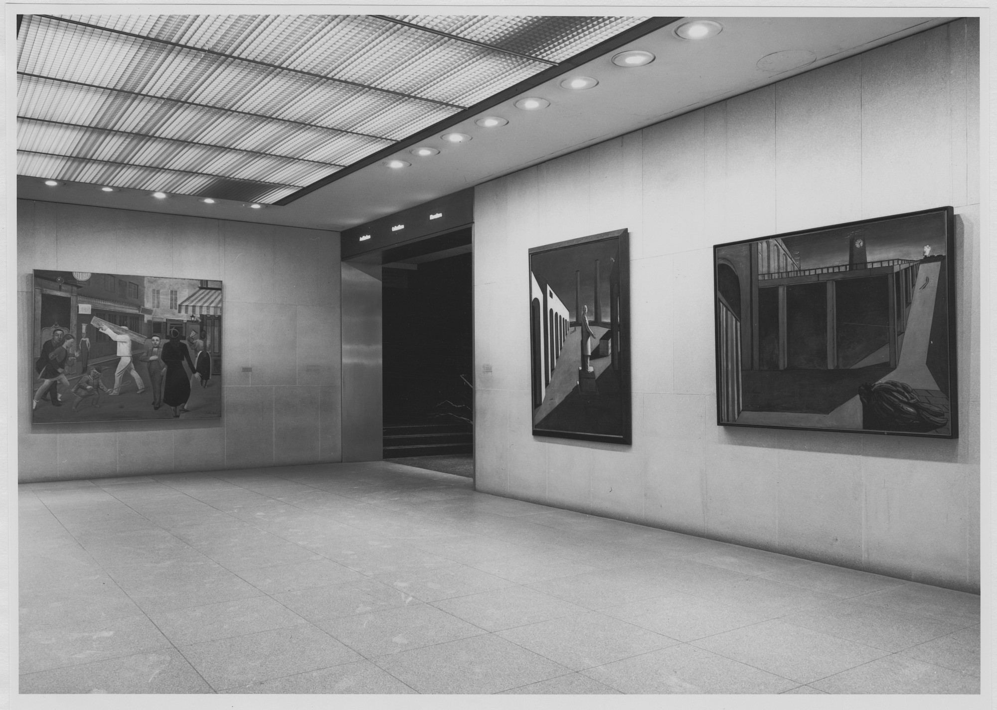 "Installation view of the exhibition, ""The James Thrall Soby Bequest"" March 22, 1979–May 9, 1979. Photographic Archive. The Museum of Modern Art Archives, New York. IN1255a.1. Photograph by Katherine Keller."