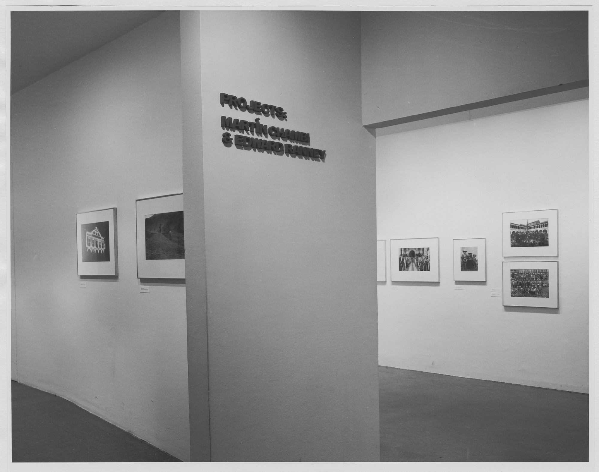 "Installation view of the exhibition, ""Projects: Martin Chambi and Edward Ranney"" March 23, 1979–May 3, 1979. Photographic Archive. The Museum of Modern Art Archives, New York. IN1256.1. Photograph by Mali Olatunji."