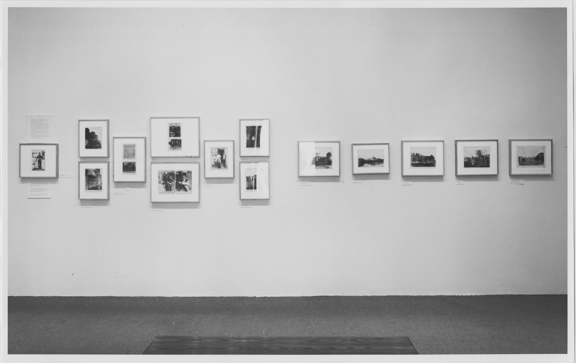 "Installation view of the exhibition, ""Alfred Capel Cure"" April 3, 1981–June 28, 1981. Photographic Archive. The Museum of Modern Art Archives, New York. IN1306.1. Photograph by Mali Olatunji."