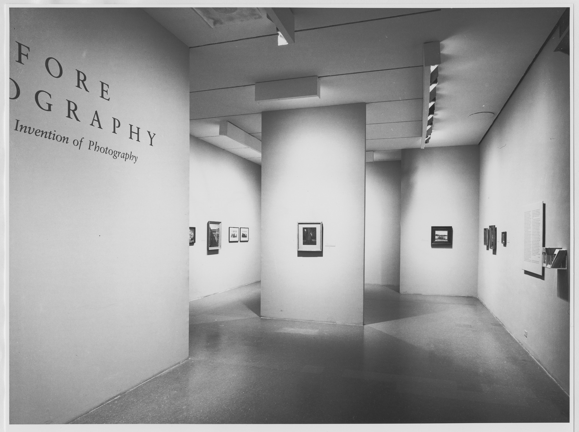 "Installation view of the exhibition, ""Before Photography: Painting and the Invention of Photography"" May 6, 1981–July 5, 1981. Photographic Archive. The Museum of Modern Art Archives, New York. IN1308.1. Photograph by Mali Olatunji."