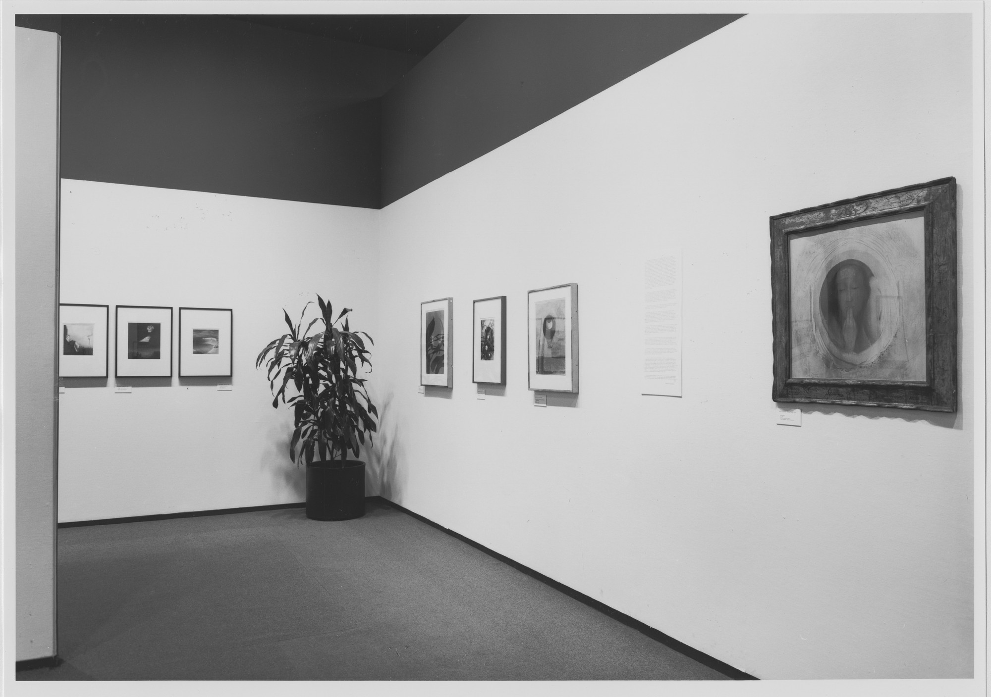"Installation view of the exhibition, ""The Symbolist Aesthetic"" December 22, 1980–March 10, 1981. Photographic Archive. The Museum of Modern Art Archives, New York. IN1300.1. Photograph by Katherine Keller."