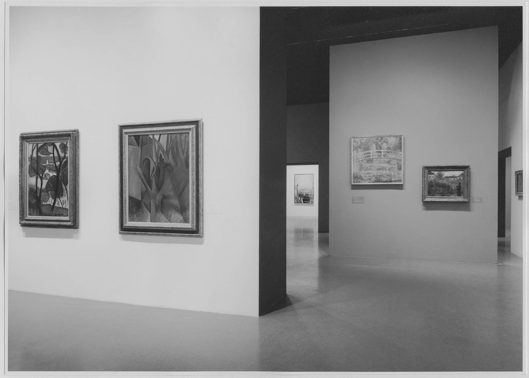 "Installation view of the exhibition, ""Modern Masters: Manet to Matisse."" August 5, 1975–September 28, 1975. Photographic Archive. The Museum of Modern Art Archives, New York. IN1105.1. Photograph by Katherine Keller."