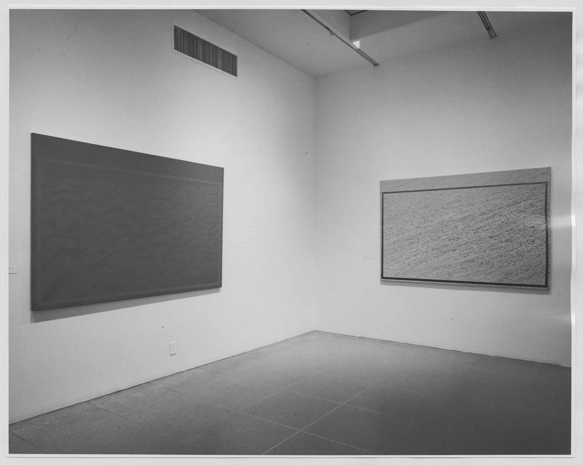 "Installation view of the exhibition, ""Projects: Emmanuel Pereire."" April 24, 1972–May 30, 1972. Photographic Archive. The Museum of Modern Art Archives, New York. IN1003.1. Photograph by James Mathews."