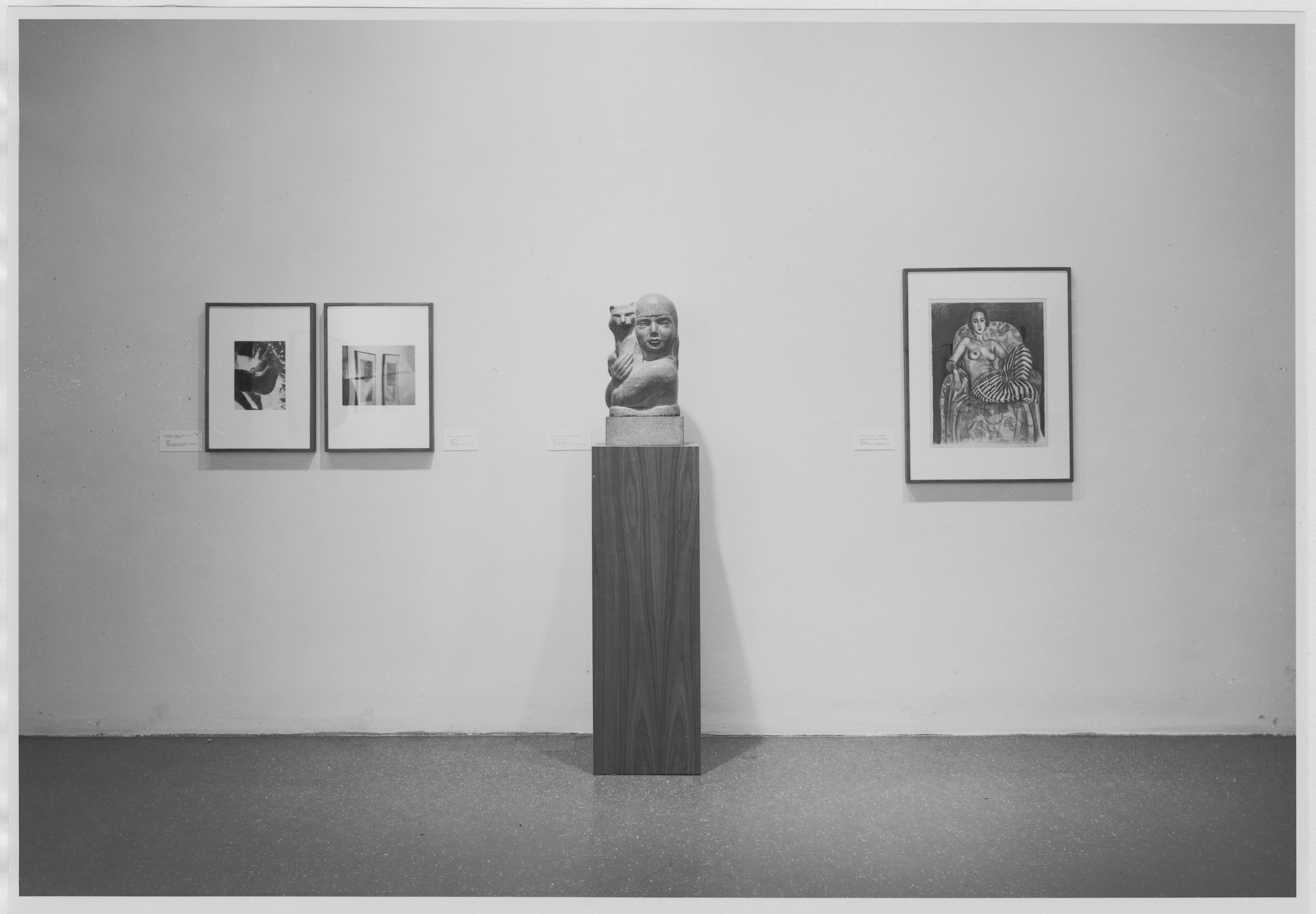 "Installation view of the exhibition, ""Art of the Twenties"" November 14, 1979–January 22, 1980. Photographic Archive. The Museum of Modern Art Archives, New York. IN1277.1. Photograph by Mali Olatunji."