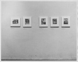 The Work of Atget: Old France. Oct 3, 1981–Jan 3, 1982. 2 other works identified