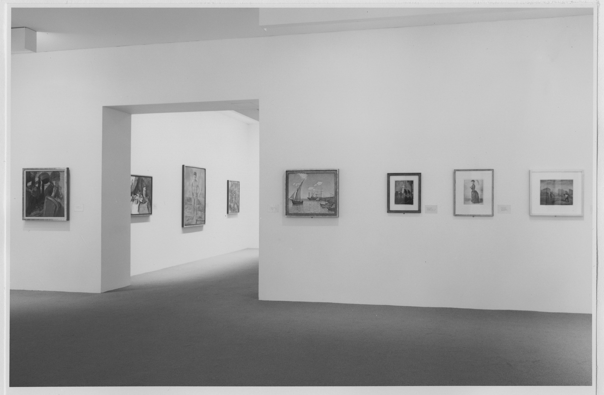 "Installation view of the exhibition, ""Selections from the Permanent Collection, Painting and Sculpture"" May 17, 1984 [unknown closing date]. Photographic Archive. The Museum of Modern Art Archives, New York. IN1372.1. Photograph by Katherine Keller."