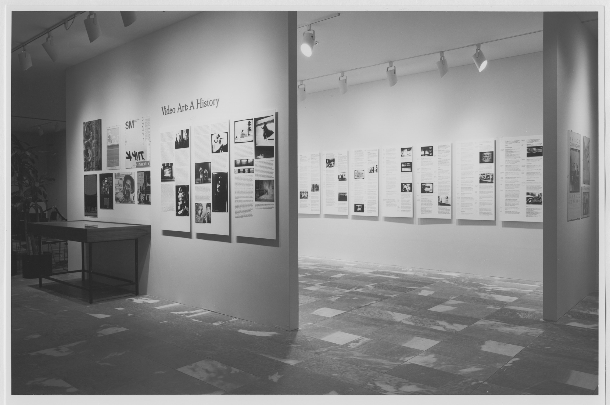 "Installation view of the exhibition, ""Video Art: A History"" October 3, 1983–January 3, 1984. Photographic Archive. The Museum of Modern Art Archives, New York. IN1364.1. Photograph by Katherine Keller."