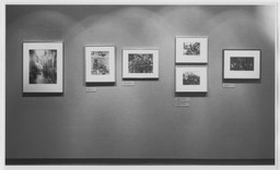 Selections from the Permanent Collection: Photography. May 17, 1984. 2 other works identified