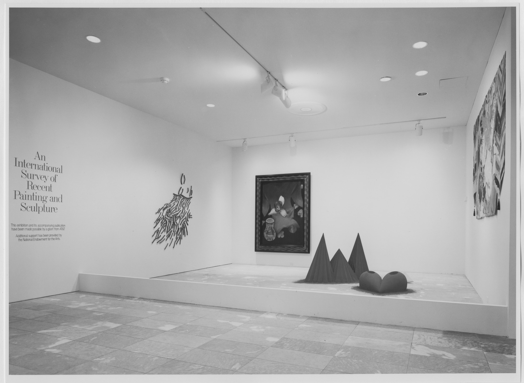 "Installation view of the exhibition, ""International Survey of Recent Painting and Sculpture"" May 17, 1984–August 19, 1984. Photographic Archive. The Museum of Modern Art Archives, New York. IN1377.1. Photograph by Katherine Keller."