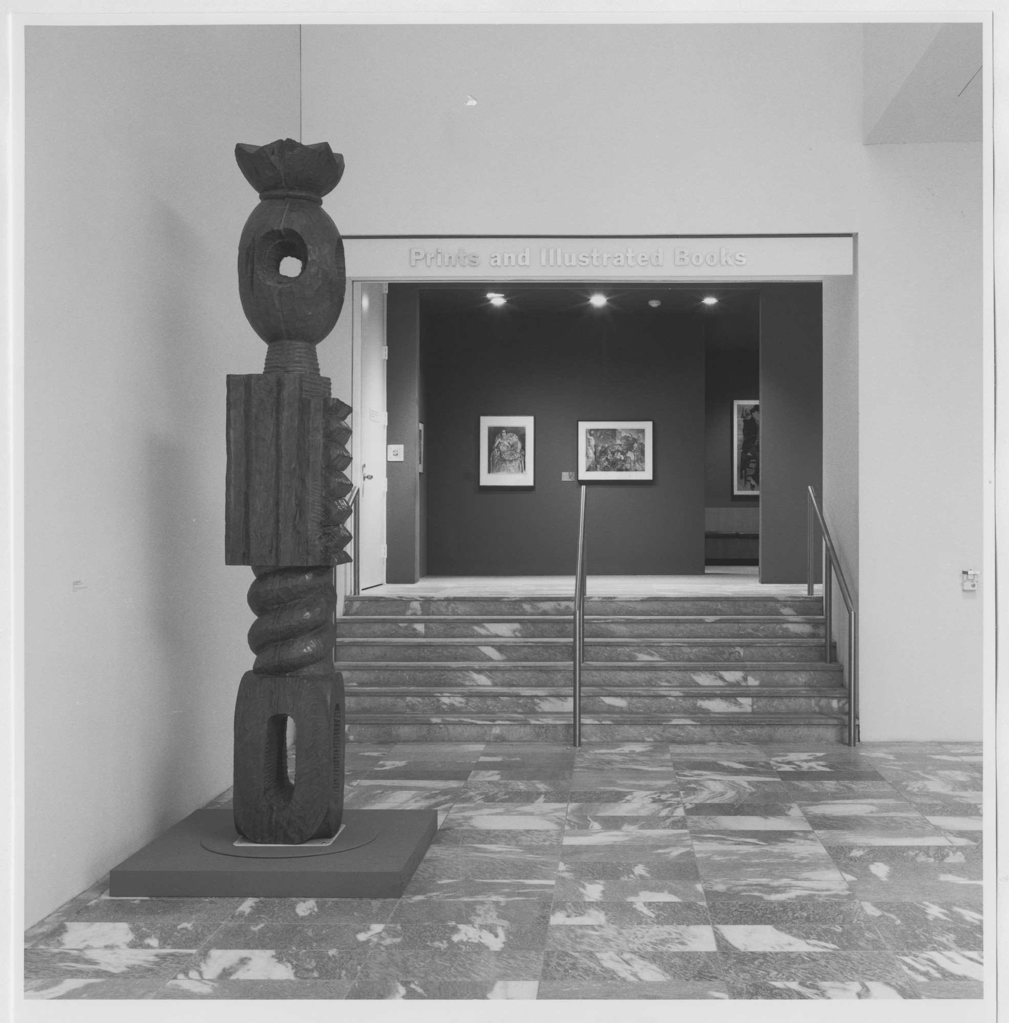 "Installation view of the exhibition, ""Selections from the Permanent Collection, Prints"" May 17, 1984 [unknown closing date]. Photographic Archive. The Museum of Modern Art Archives, New York. IN1374.1. Photograph by Mali Olatunji."