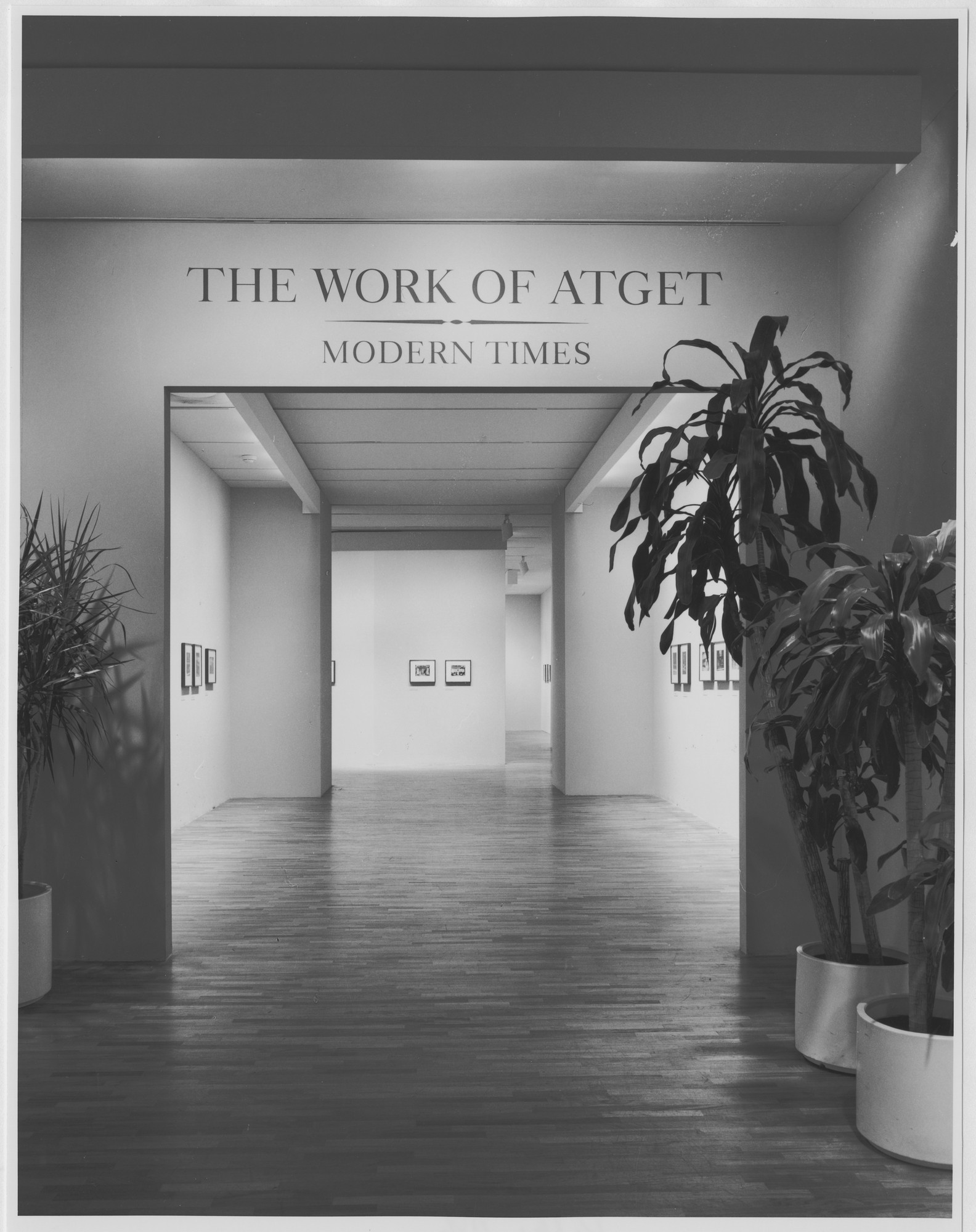 "Installation view of the exhibition, ""The Work of Atget: Modern Times"" March 14, 1985–May 14, 1985. Photographic Archive. The Museum of Modern Art Archives, New York. IN1393.1. Photograph by Katherine Keller."