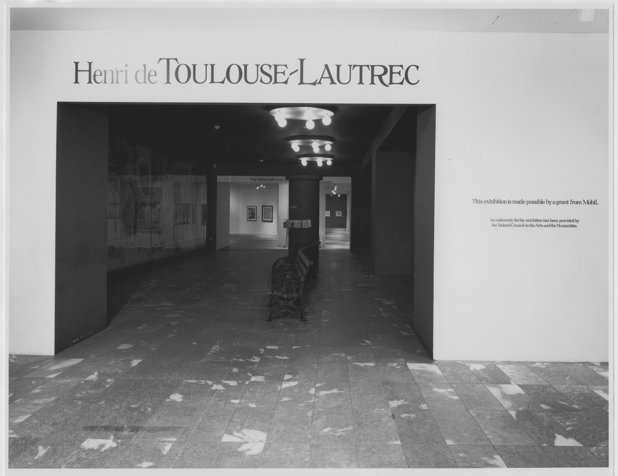 "Installation view of the exhibition, ""Henri de Toulouse-Lautrec"" October 30, 1985–January 26, 1986. Photographic Archive. The Museum of Modern Art Archives, New York. IN1408.1. Photograph by Mali Olatunji."