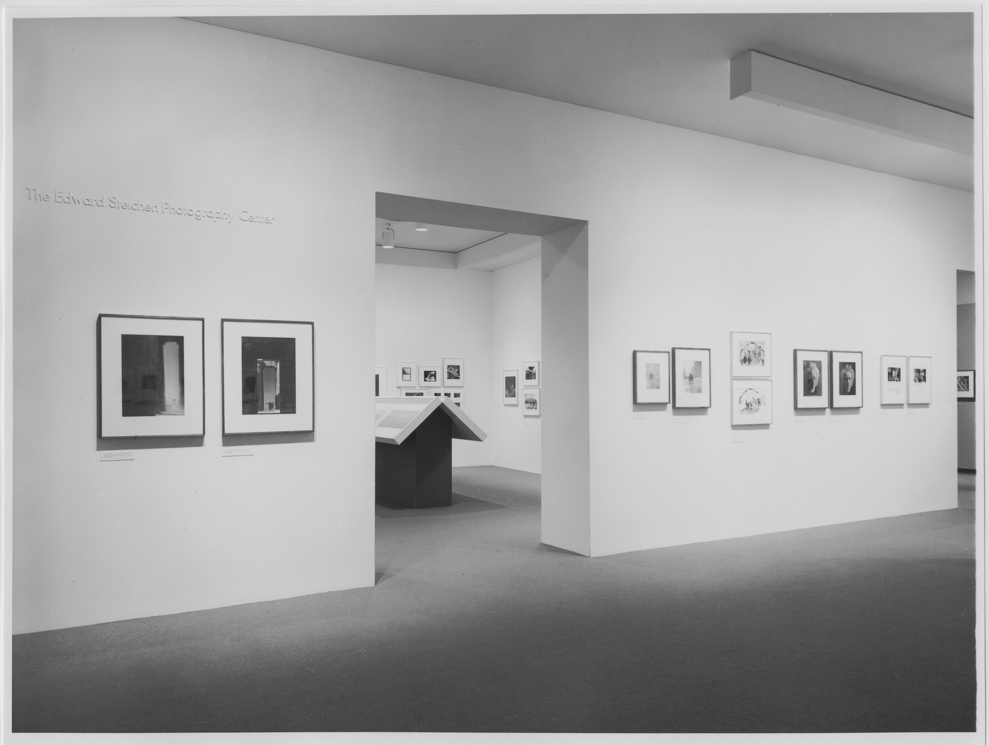 "Installation view of the exhibition, ""Variants"" December 12, 1985–March 11, 1986. Photographic Archive. The Museum of Modern Art Archives, New York. IN1412.1. Photograph by Katherine Keller."
