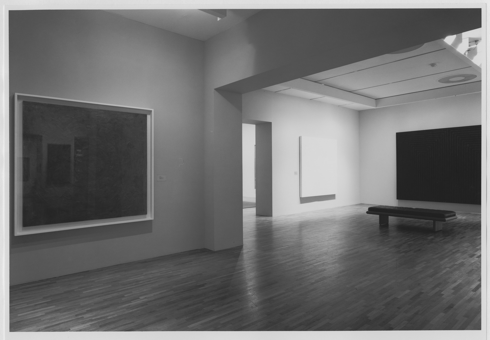 "Installation view of the exhibition, ""Contemporary Works in the Collection"" April 11, 1986–October 9, 1986. Photographic Archive. The Museum of Modern Art Archives, New York. IN1419a.1. Photograph by Mali Olatunji."
