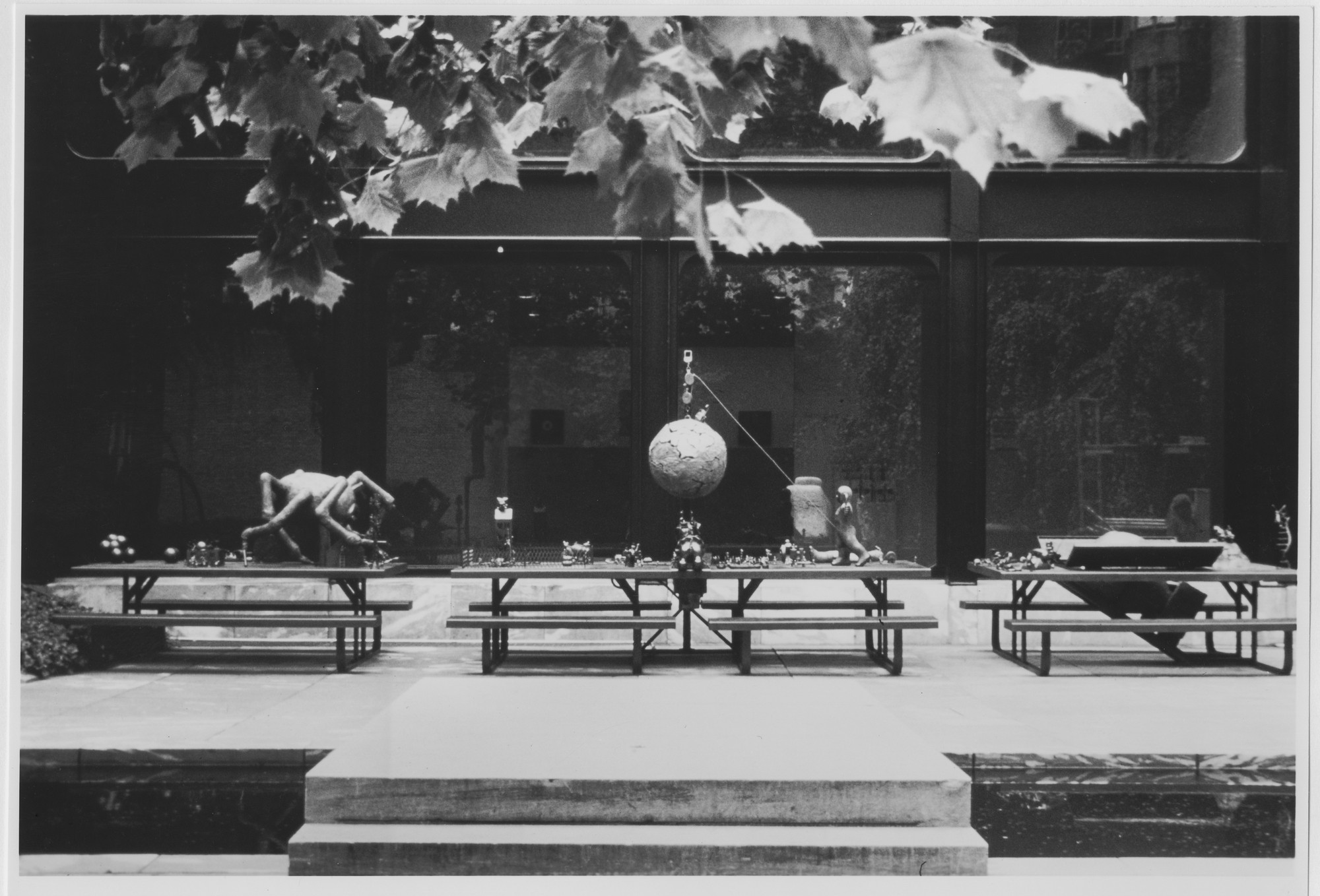 "Installation view of the exhibition, ""Projects: Tom Otterness"" July 23, 1987–October 13, 1987. Photographic Archive. The Museum of Modern Art Archives, New York. IN1459.1. Photograph by Ivan Dalla Tana."