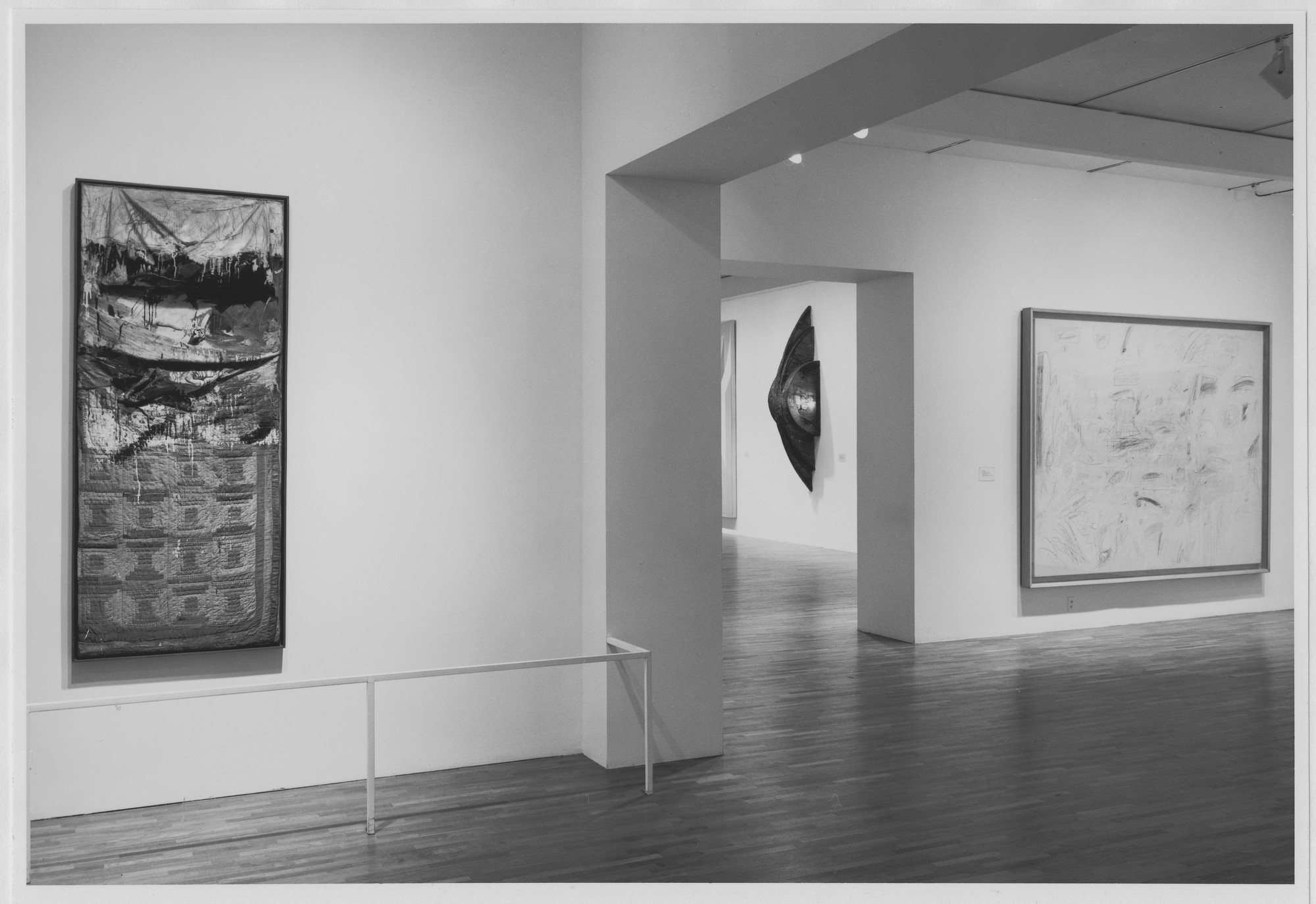 "Installation view of the exhibition, ""Contemporary Works from the Collection"" June 24, 1989–March 18, 1990. Photographic Archive. The Museum of Modern Art Archives, New York. IN1522.1. Photograph by Mali Olatunji."