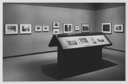 Photography Gallery Reinstallation. Jan 18, 1990.