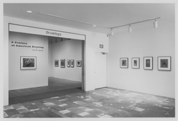 From the Collection: A Century of American Drawing. May 23–Sep 17, 1996.