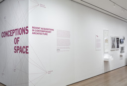 Conceptions of Space: Recent Acquisitions in Contemporary Architecture. Jul 4–Oct 19, 2014. 3 other works identified