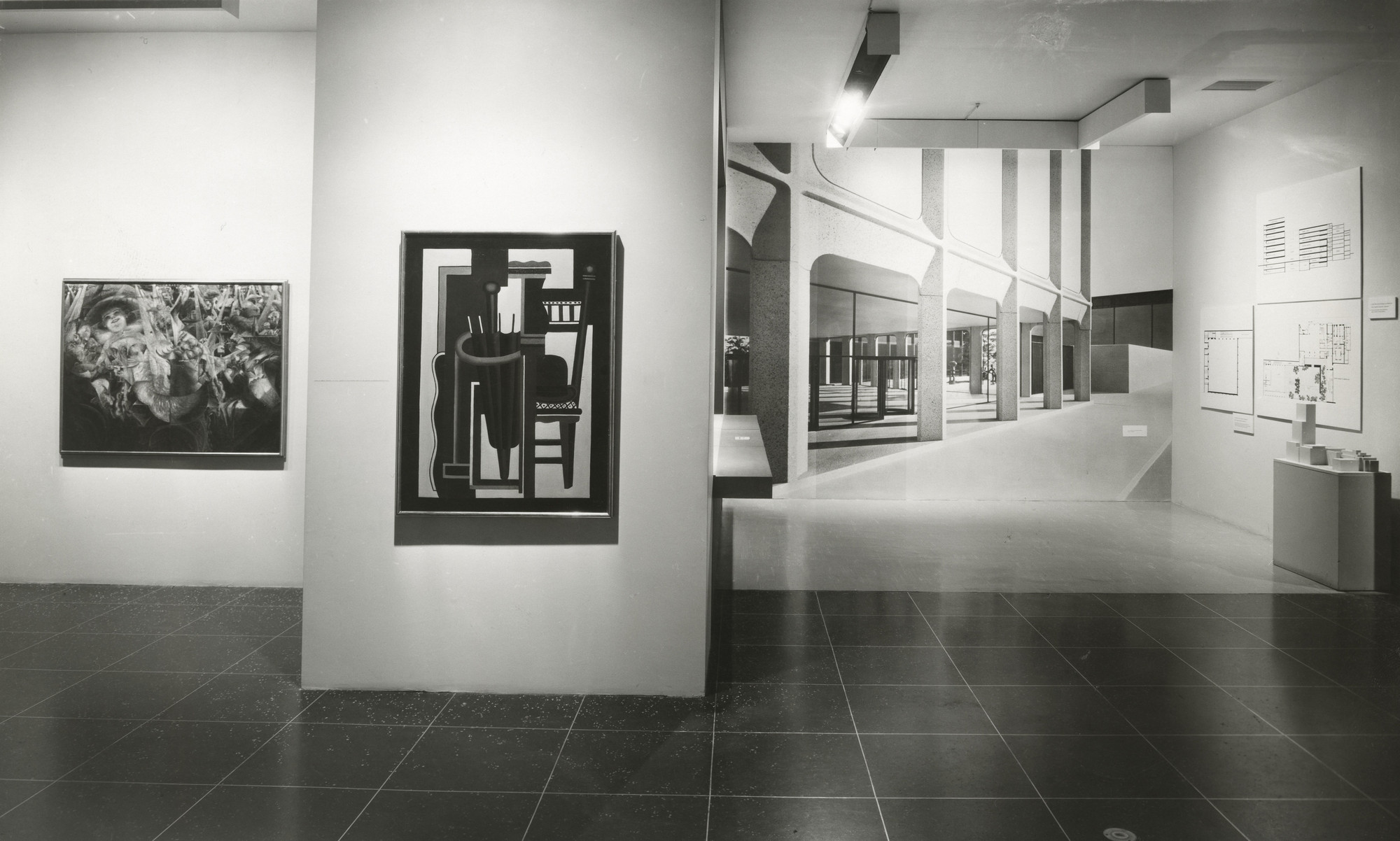 "Installation view of the exhibition, ""Recent Acquisitions"" December 3, 1959–January 31, 1960. Photographic Archive. The Museum of Modern Art Archives, New York. IN655.1. Photograph by Soichi Sunami."