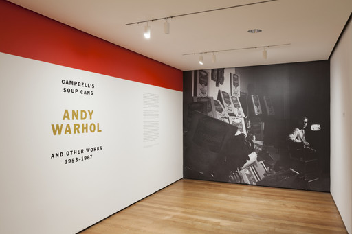 Andy Warhol Campbell S Soup Cans And Other Works 1953 1967 Moma