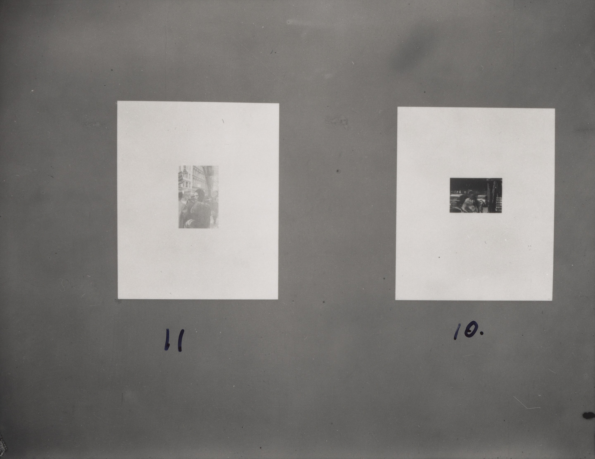 "Four installation views of the exhibition, ""Walker Evans: American Photographs"" September, 28–November 18, 1938. Photography Study Center, The Museum of Modern Art, New York. IN78.1"