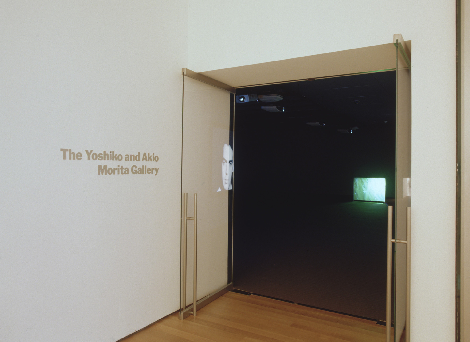 "Installation view of the exhibition, ""Film and Media:  Inaugural Installation"" November 20, 2004–February 7, 2005. IN1930.1. Photograph by Thomas Griesel."