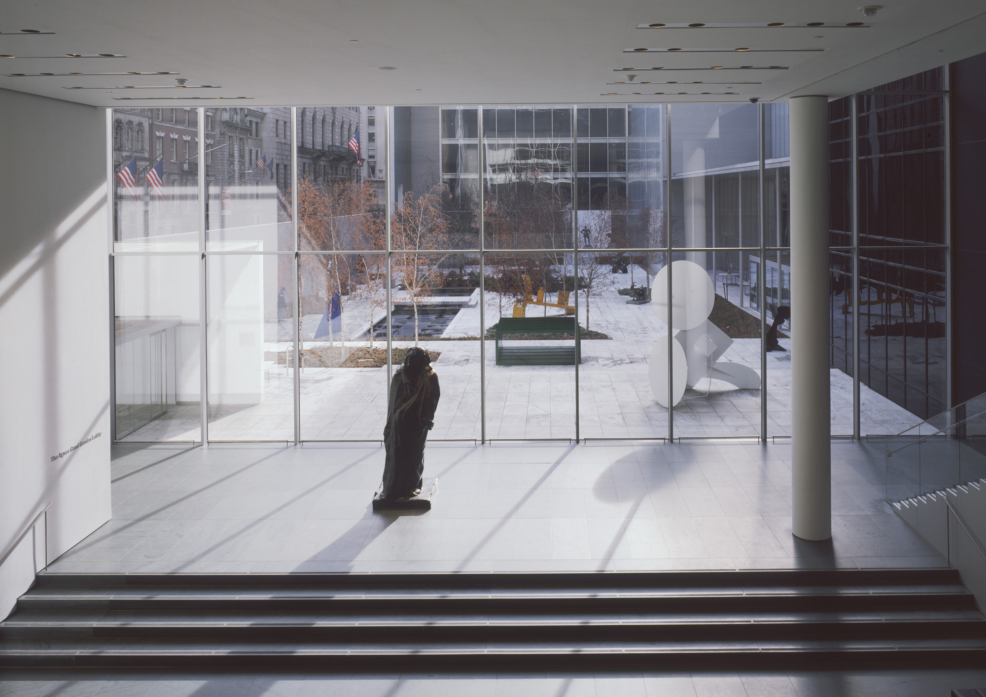 "Installation view of the exhibition, ""The Abby Aldrich Rockefeller Sculpture Garden:  Inaugural Installation"" November 20, 2004–December 31, 2005. IN1934.1. Photograph by Thomas Griesel."