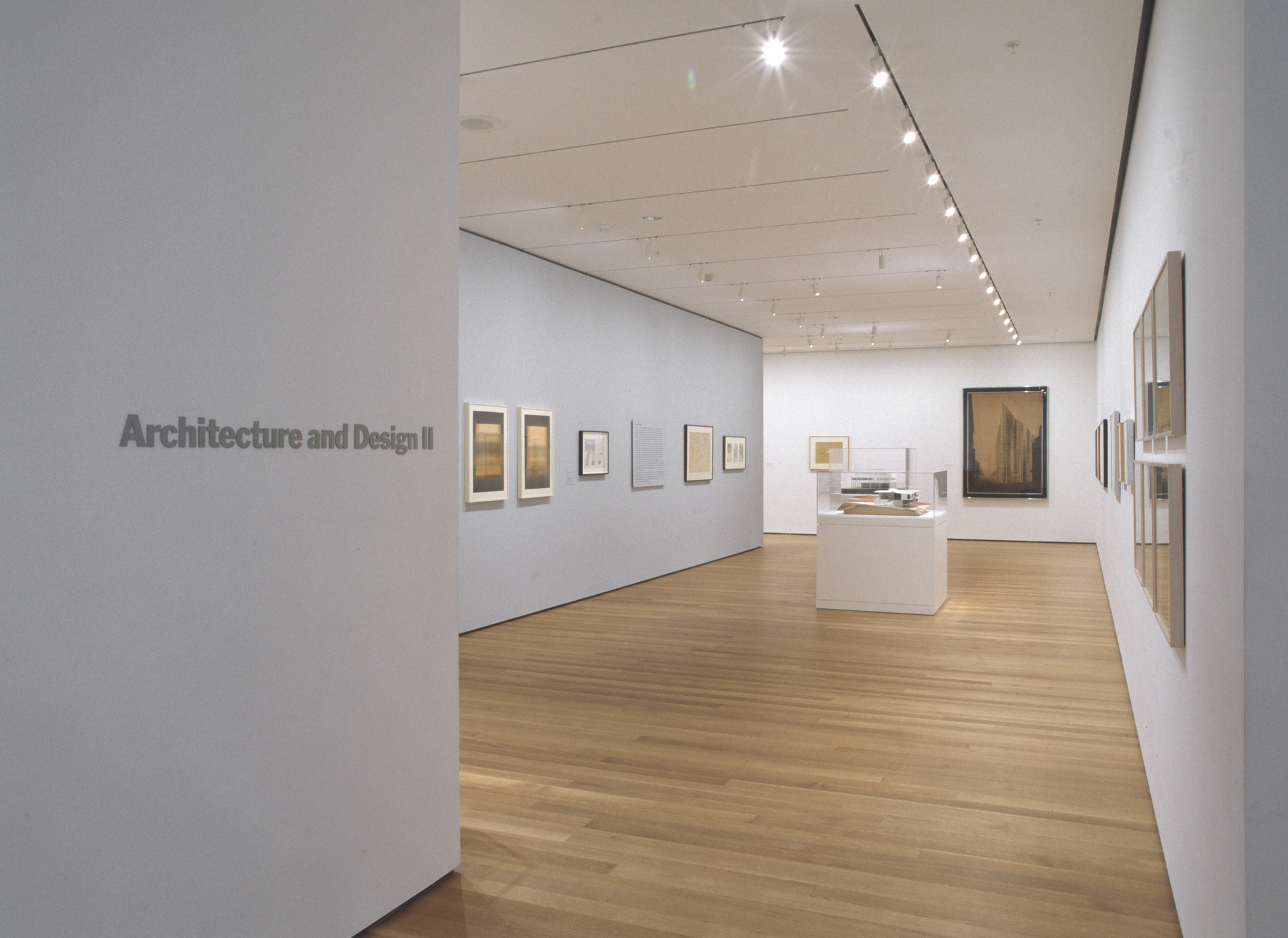 "Installation view of the exhibition, ""Architecture and Design:  Inaugural Installation"" November 20, 2004–March 21, 2005. Photographic Archives. The Museum of Modern Art Archives, New York. IN1926.1. Photograph by Thomas Griesel."