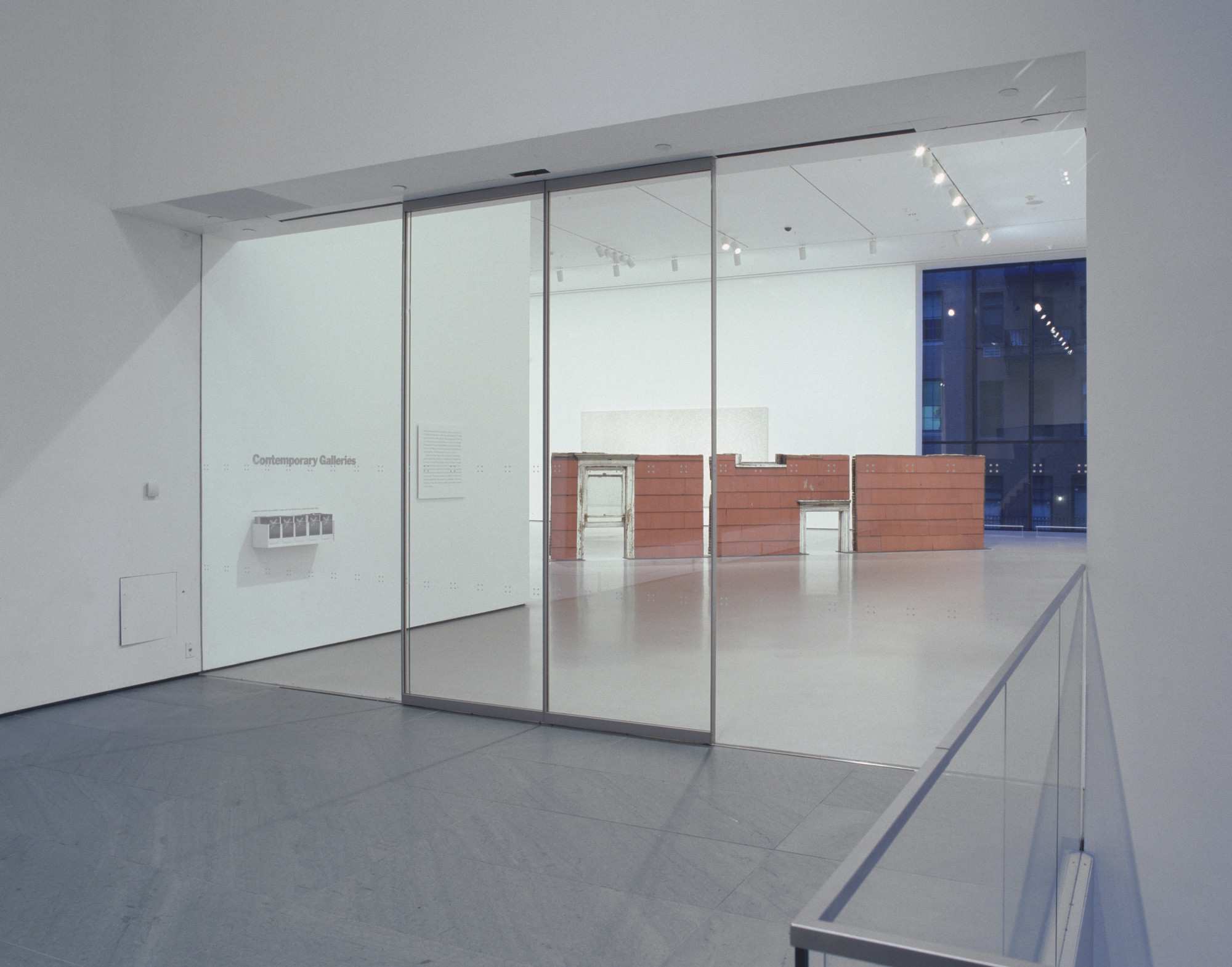 "Installation view of the exhibition, ""Contemporary:  Inaugural Installation"" November 20, 2004–July 11, 2005. IN1928.1. Photograph by Thomas Griesel."