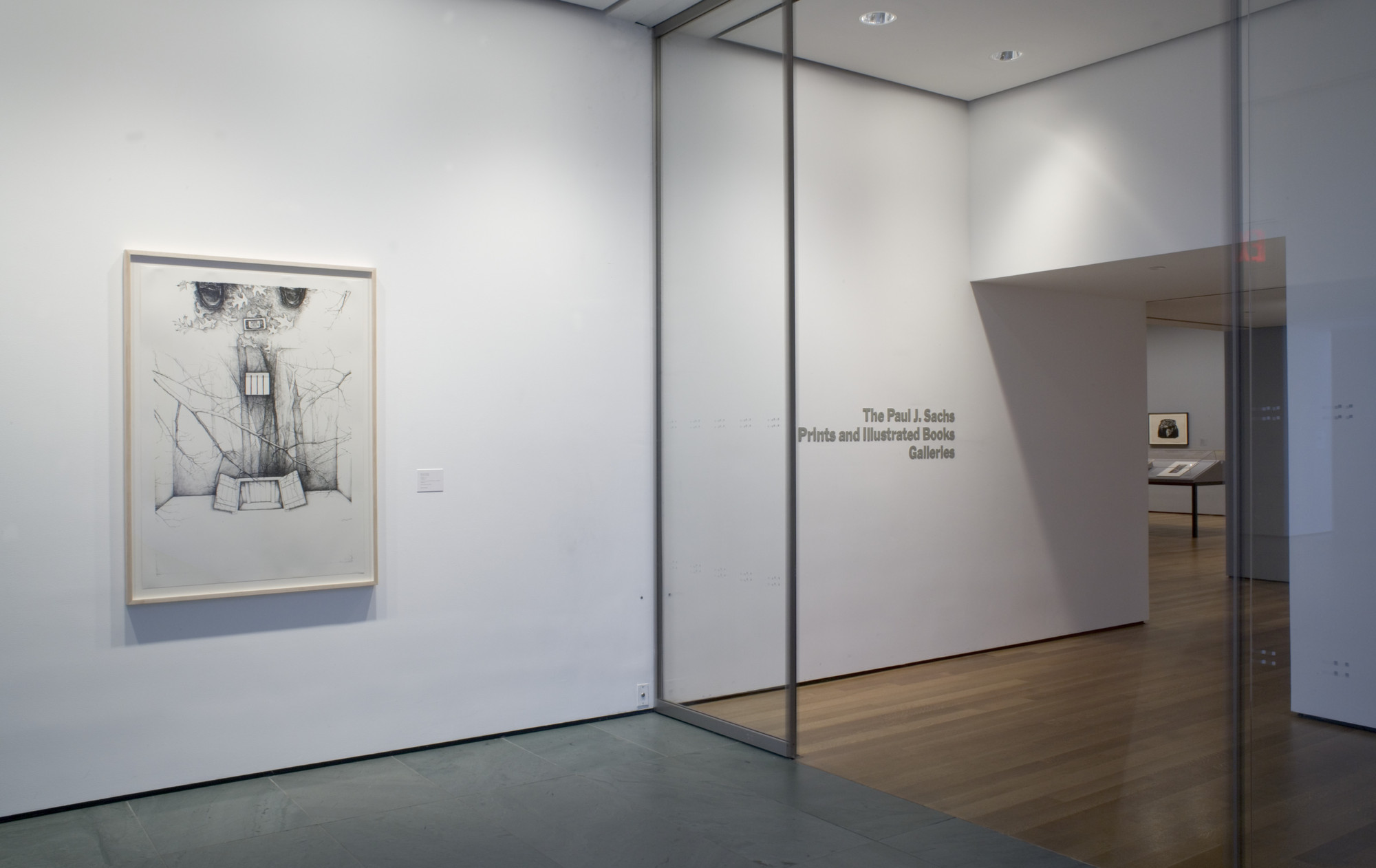 "Installation view of the exhibition, ""Artists & Prints:  Part 2."" April 13, 2005–July 17, 2005. IN1939.1"