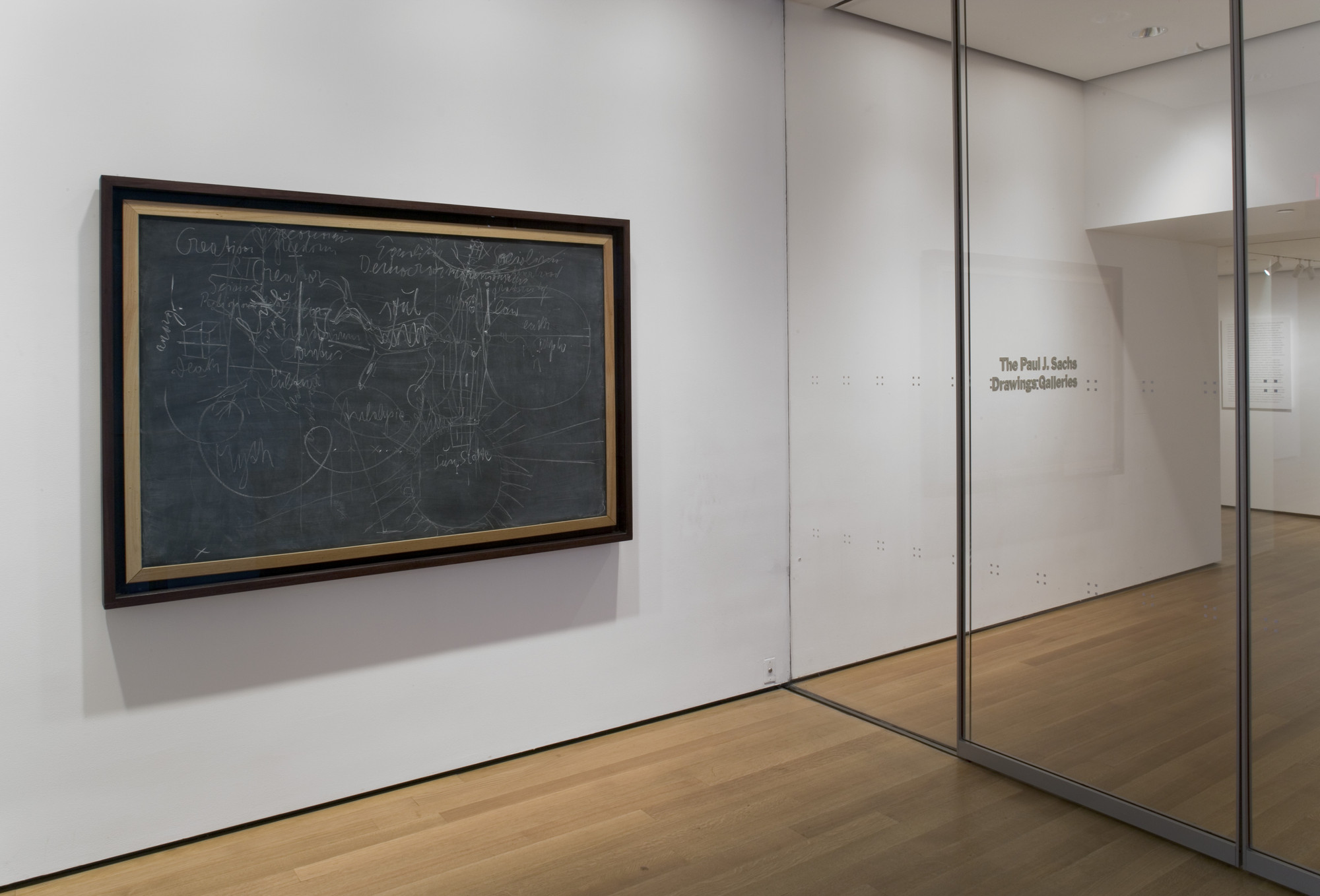"Installation view of the exhibition, ""Drawing from the Modern 1945 - 1975."" March 25, 2005–August 29, 2005. IN1938.1"