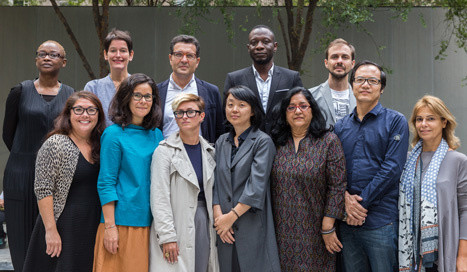 2015 MoMA International Curatorial Institute Fellows. Photo: Scott Rudd