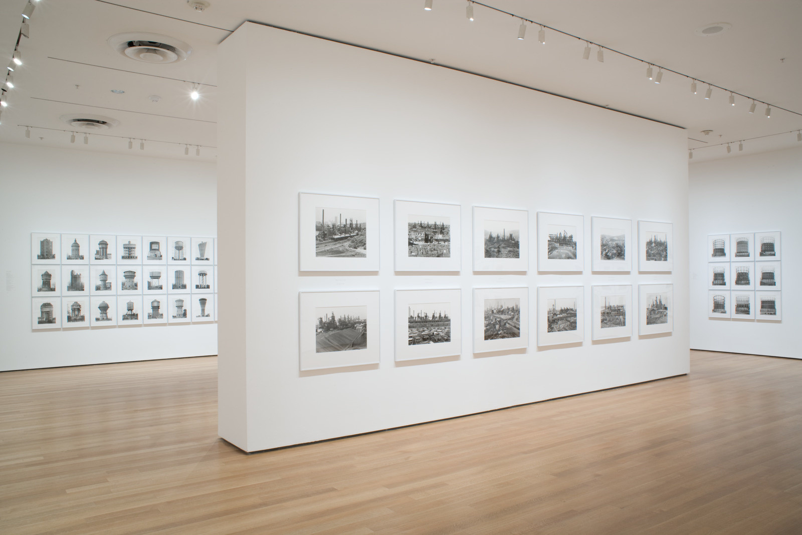 Installation view, Bernd and Hilla Becher: The Museum of Modern Art,, November 20, 2004–August 5, 2015