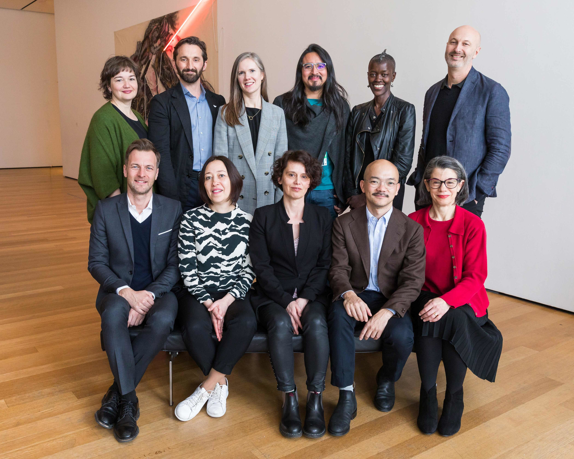 95b5b2241e3 The participants in the 2018 MoMA International Curatorial Institute. Top