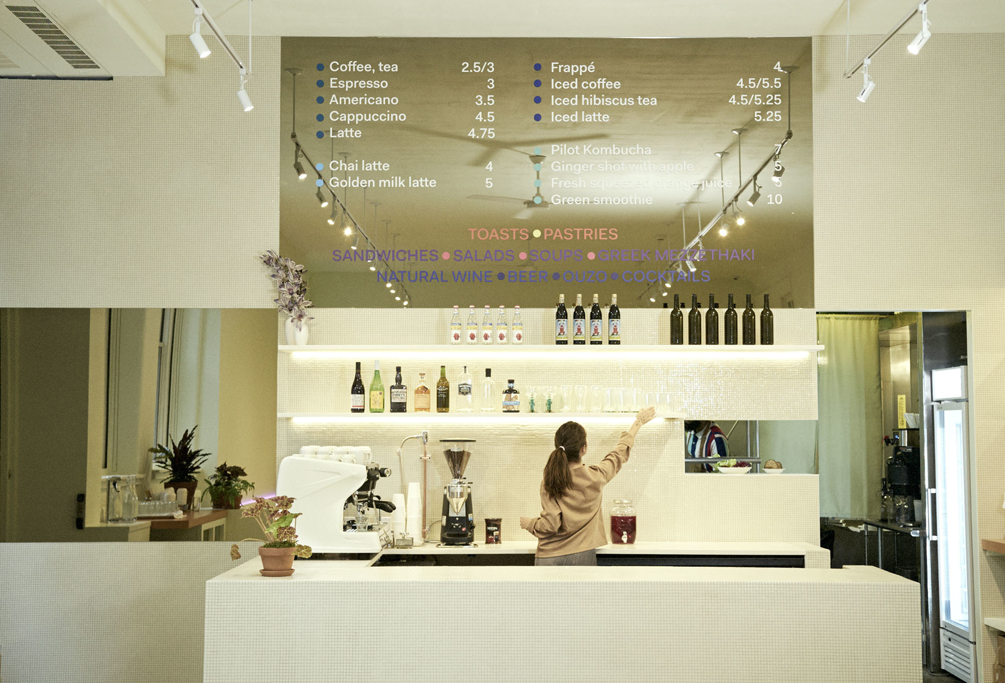 Mina's Cafe at MoMA PS1. Photo: Flora Hanitijo