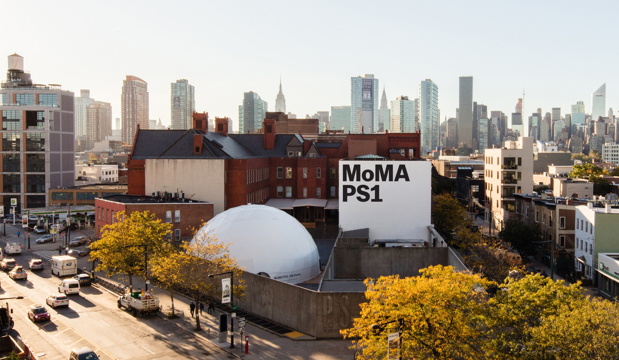 Exterior view of MoMA PS1