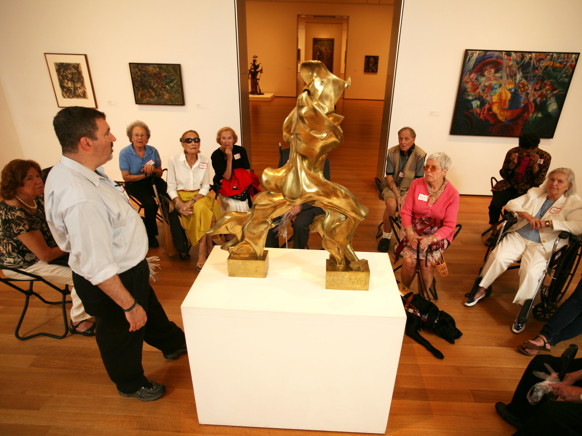 Art inSight. June 2008. © The Museum of Modern Art. Photo: Michael Nagle