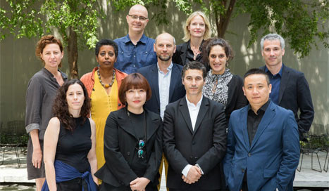 2014 MoMA International Curatorial Institute Fellows. Photo: Scott Rudd.
