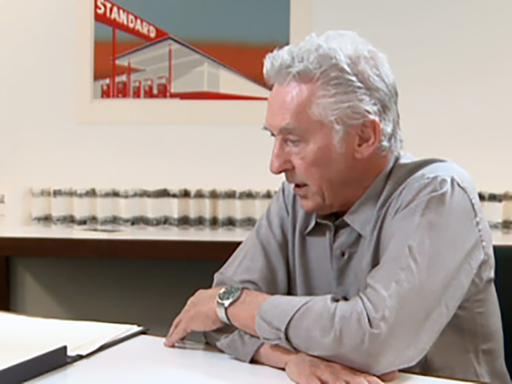 Ed Ruscha, during an interview with Christophe Cherix, The Abby Aldrich Rockefeller Chief Curator of Prints and Illustrated Books, 2011
