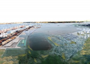 Matthew Baird Architects, Sketch rendering of design concept