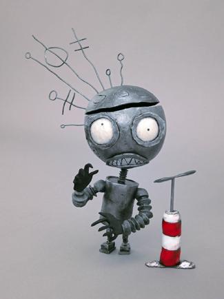 Final robot on set