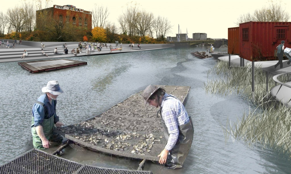 SCAPE Landscape Architecture, oyster farming on the Gowanus Canal