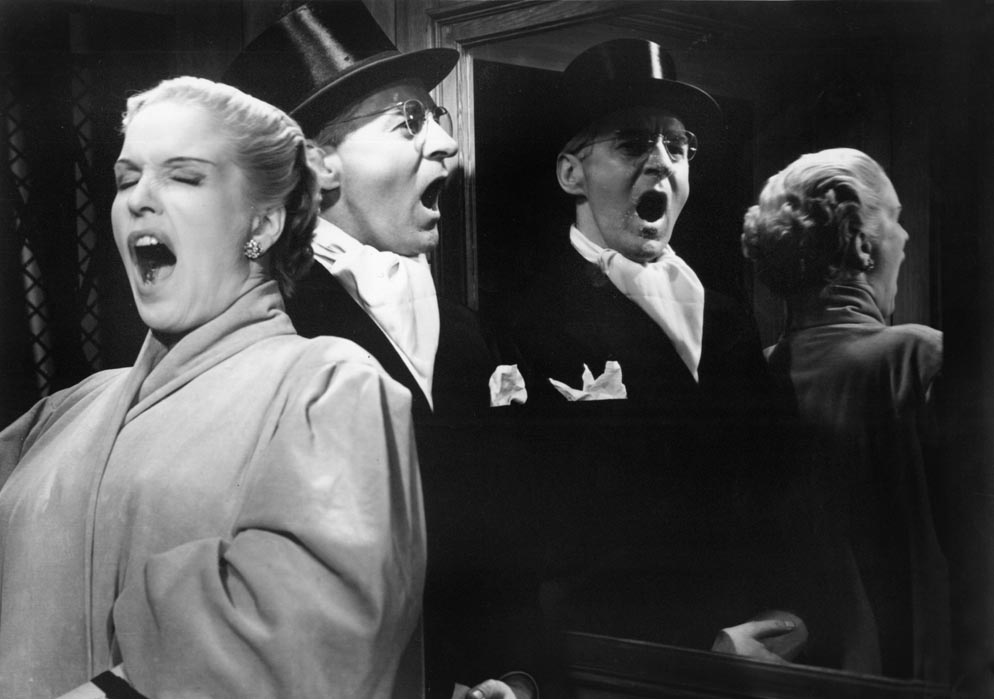 Kvinnors väntan (Secrets of Women). 1952. Sweden. Written and directed by Ingmar Bergman. Shown from left: Eva Dahlbeck, Gunnar Björnstrand . © Janus Films. Photo courtesy Janus Films/Photofest