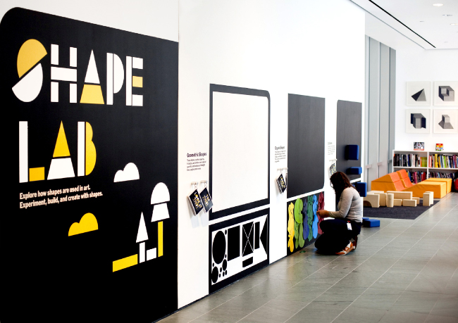 MAGNETIC MoMA: A GRAPHIC LOOK AT SHAPE LAB