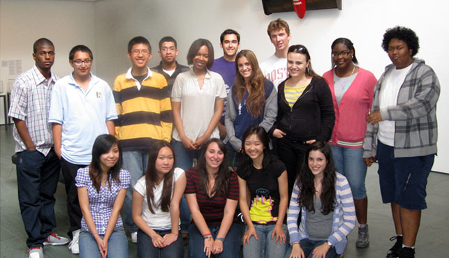 Participants from the 2009-10 Youth Advisory Council