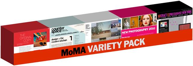 MoMA variety pack