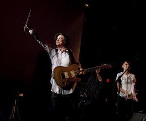 The Raincoats Ana da Silva performs at MoMA, November 20, 2010